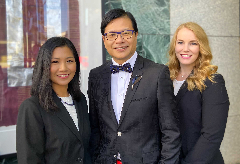 The Lam Group Evans Y. Lam, Leslie Ann Manuel, Kelsey Joan Berryman