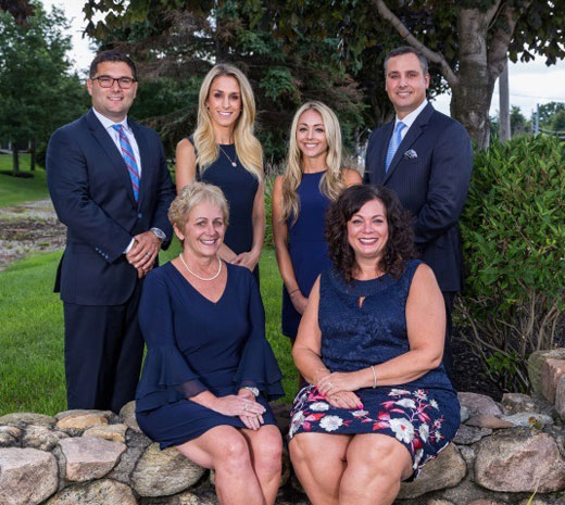 D'Aiutolo Malcolm & Associates Investment Consulting Group Paul D'Aiutolo, Alicia Malcolm, Marc Brondon, Kaitlyn Stagnitta, Donna A. George, Amanda Marshall