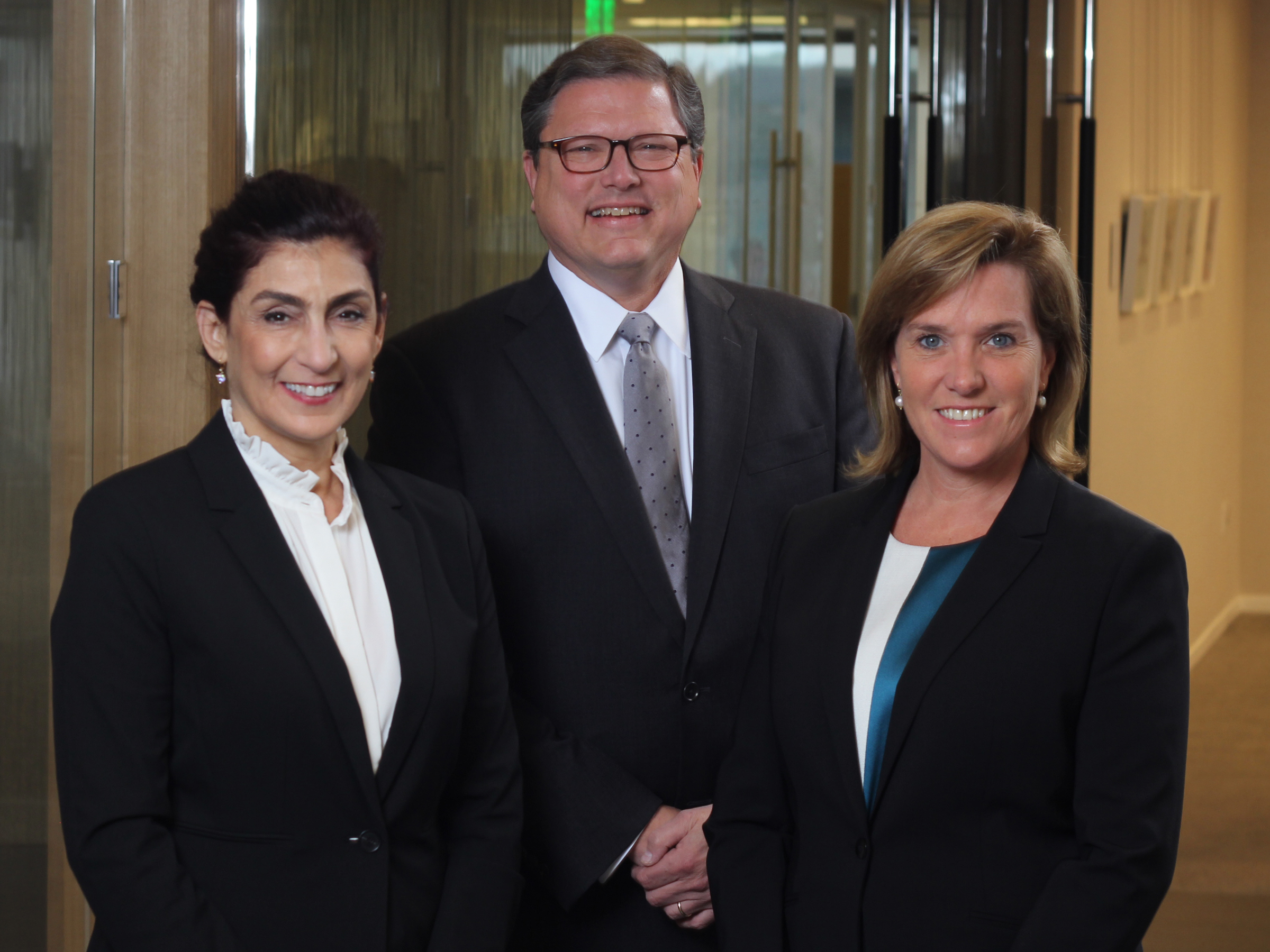 Edgewater Wealth Management Charles McCool, Kristin Bloom, Angela M. Kelly, Emma Rose Leibell