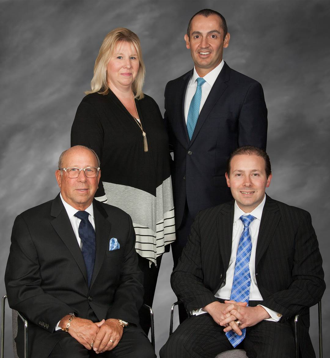 Ringelheim Wealth Management Group Barry Ringelheim, Harris Ringelheim, Brian Fishlinger, Jeanine Sclafani